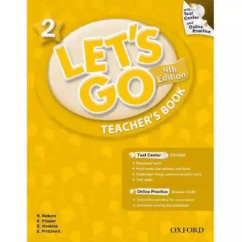 Let's Go 2 Teacher's Book with Test Center CD-ROM