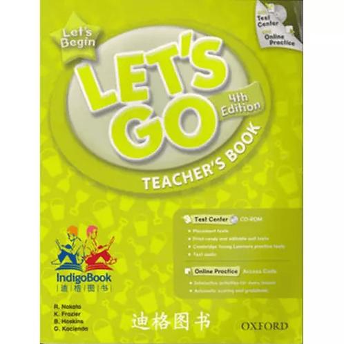 Let's Go Let's Begin Teacher's Book with Test Center CD-ROM