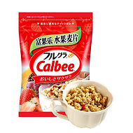 Calbee cereal breakfast food american fo