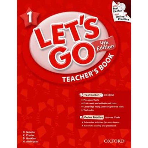 Let's Go 1 Teacher's Book with Test Center CD-ROM