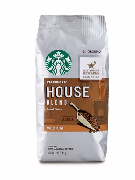 Starbucks house blend ground coffee 340g