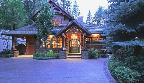 Log Cabin at The Hayden Lake Country Club