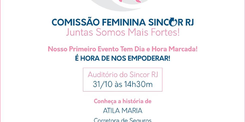 Evento da Comissão Feminina Sincor-RJ