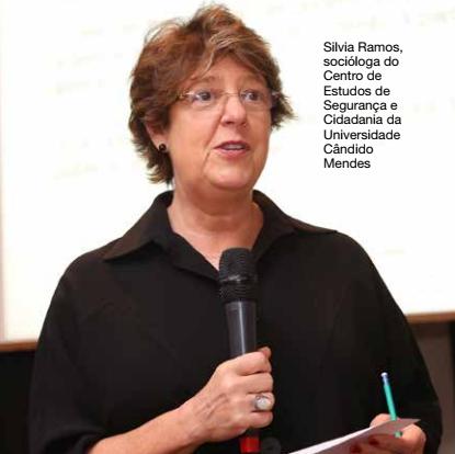 Silvia Ramos, socióloga do Centro de Estudos de Segurança e Cidadania da Universidade Cândido Mendes