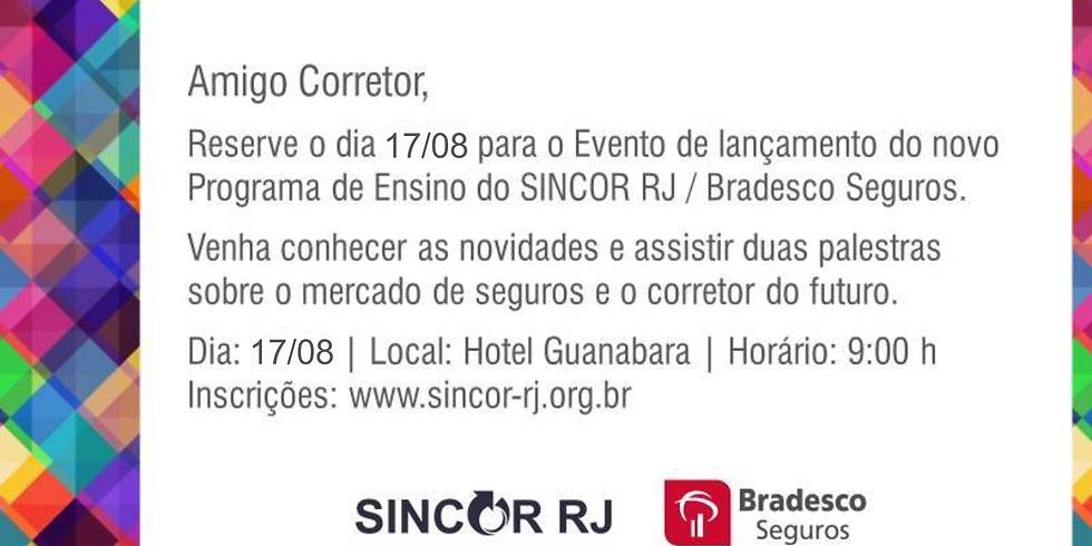 Evento Projeto de Ensino Sincor-RJ / Bradesco Seguros