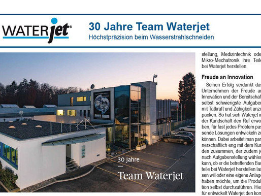 Waterjet @ meditronic journal