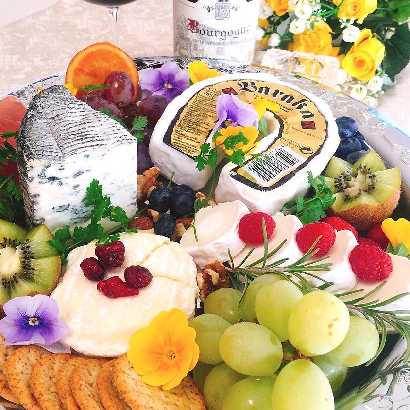 2019年7月18、19、20日チーズパーティ講座「夏とチーズを楽しもう」