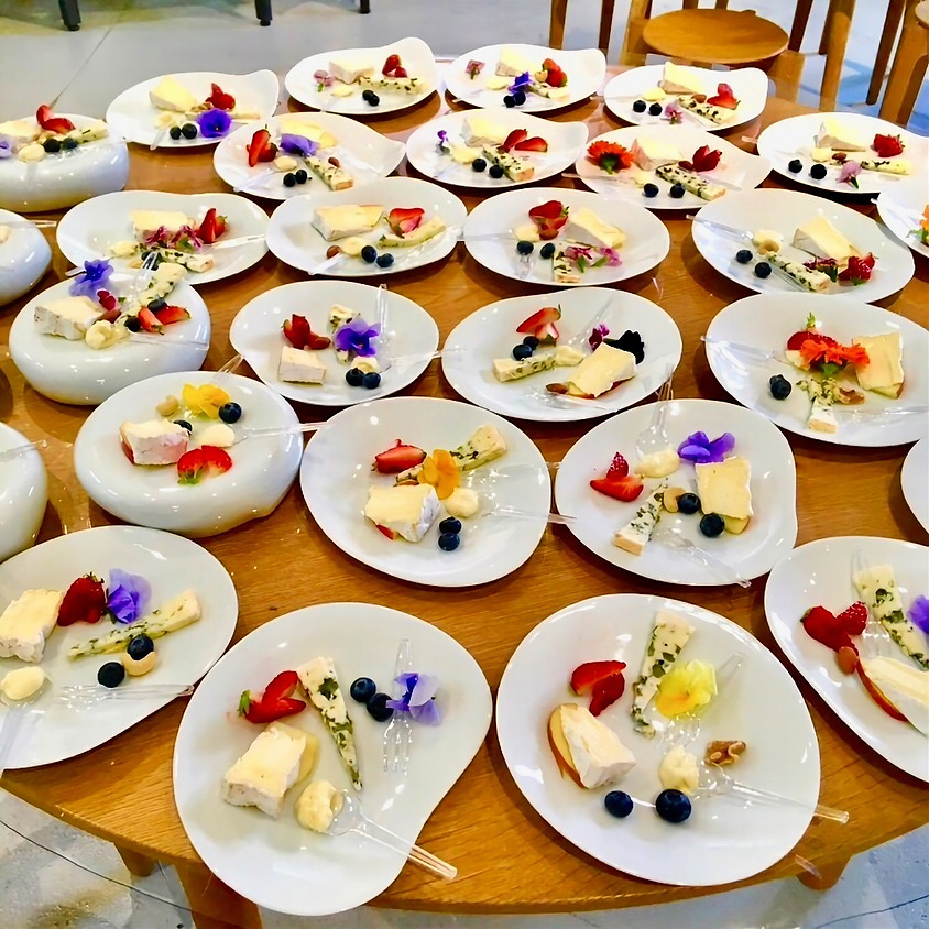 残り2席『チーズと日本酒と器の会』