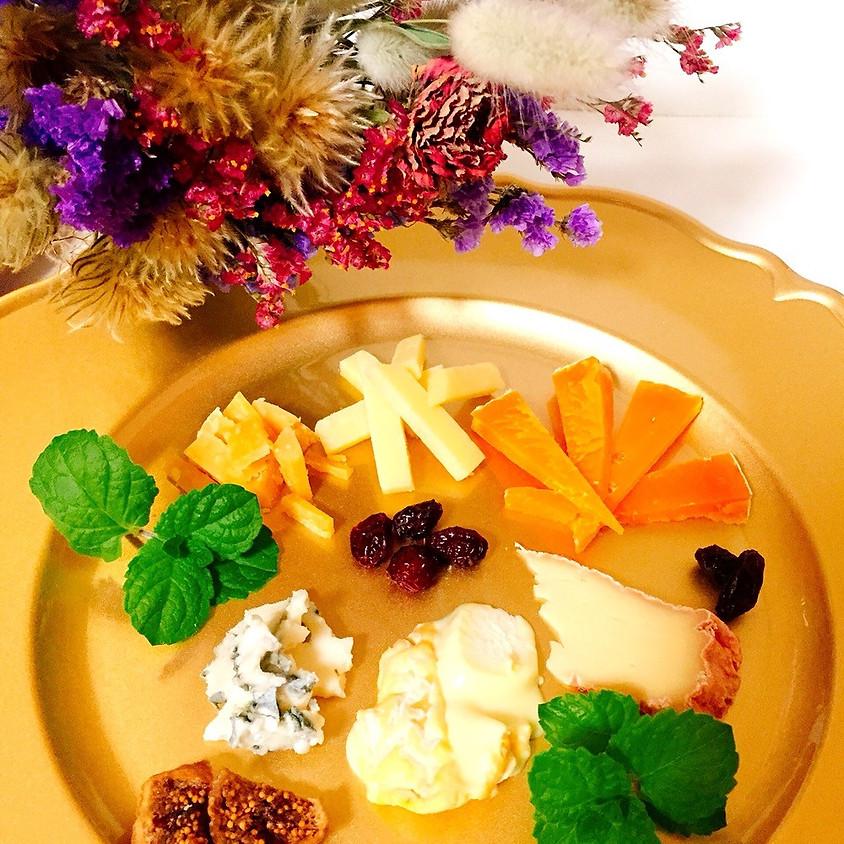 2019年11月14、15、17日 チーズパーティ講座 「秋が美味しい旬のチーズ」