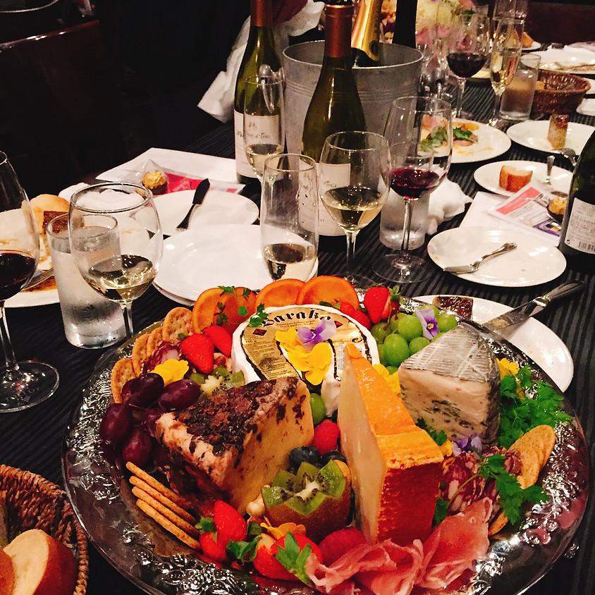 フランス料理店のワイン&フロマージュの会