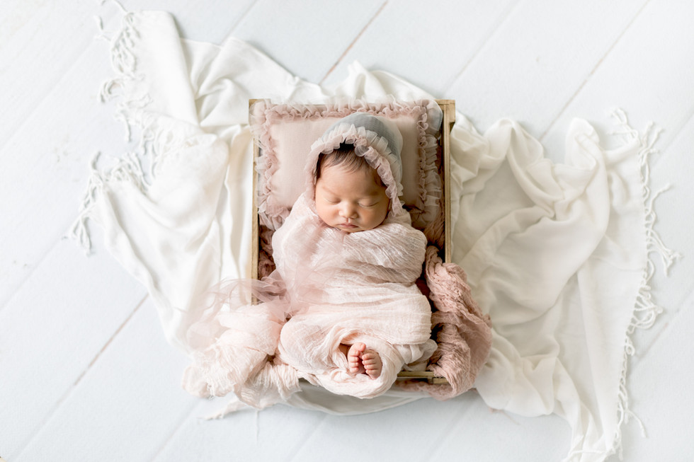 how to use props with newborn photography