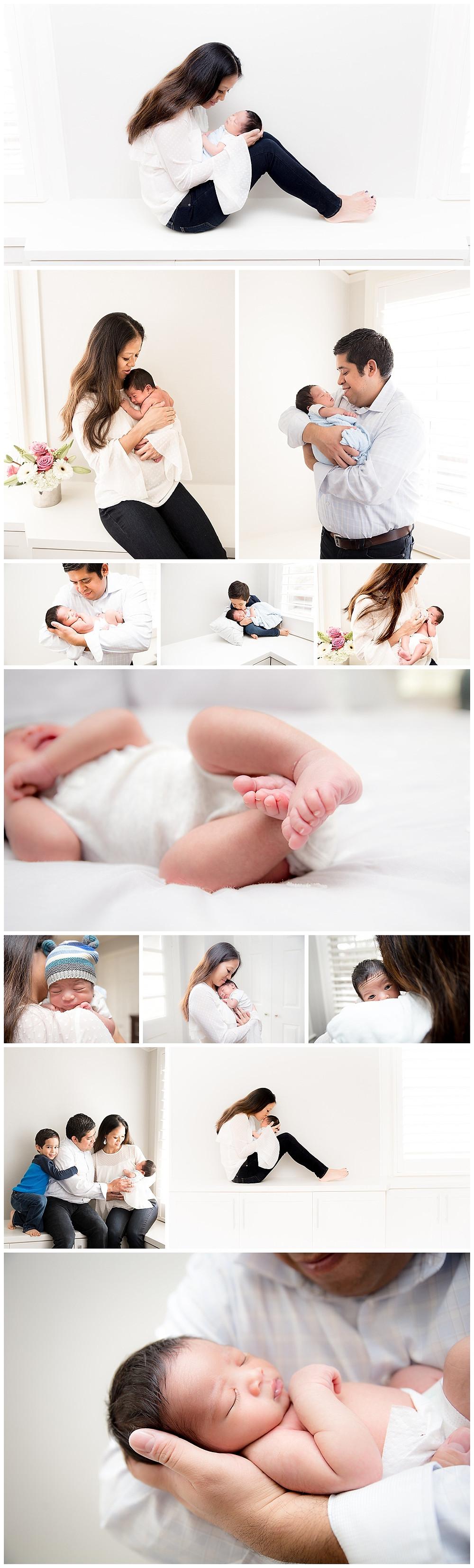 dallas newborn photographer, lifestyle newborn session