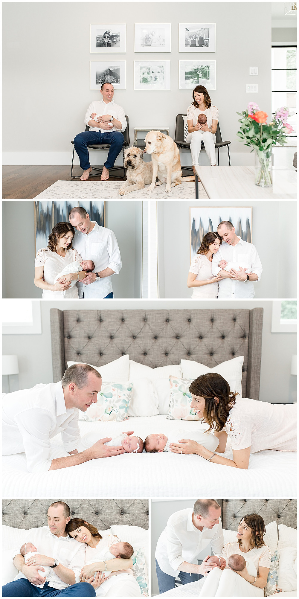 lifestyle newborn photography in Houston