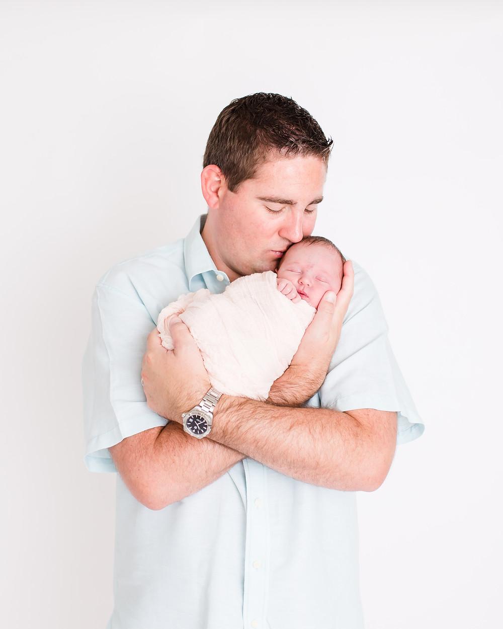 portraits of newborn baby