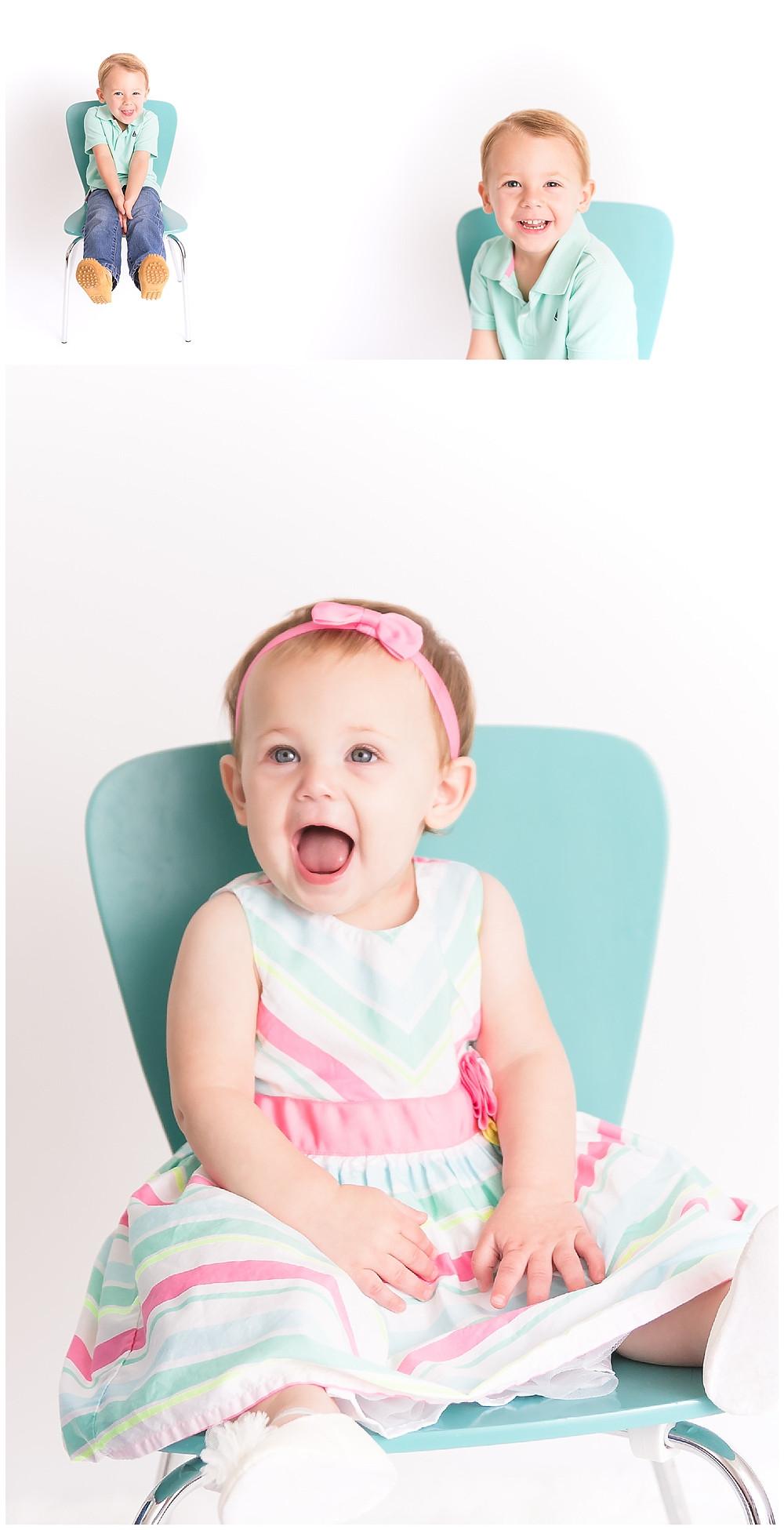 baby and child portraits, Dallas studio