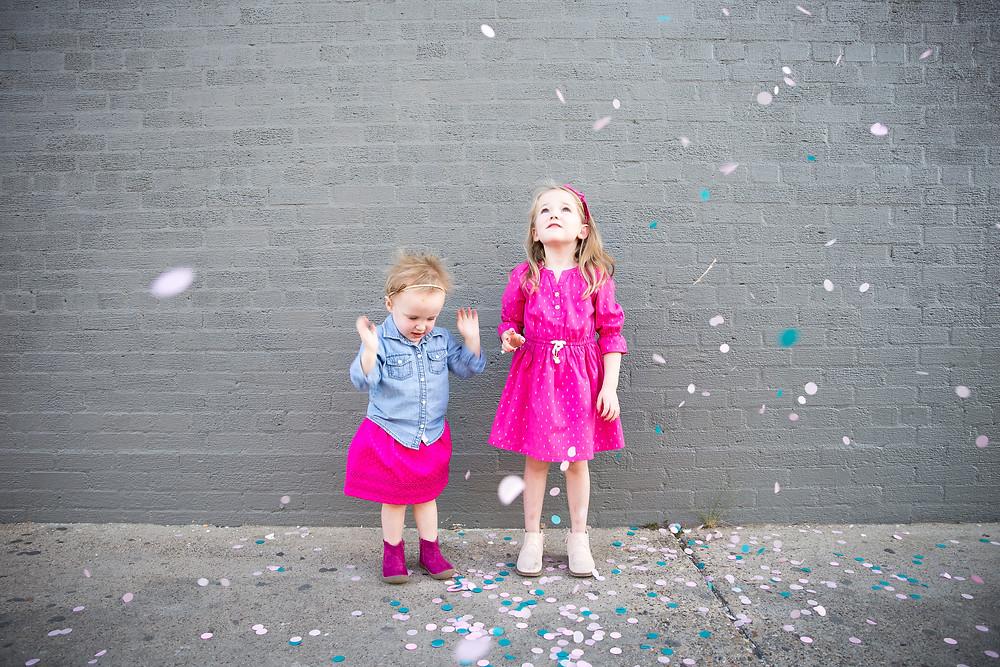 confetti photography