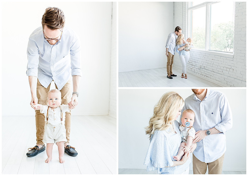 light and airy family photography