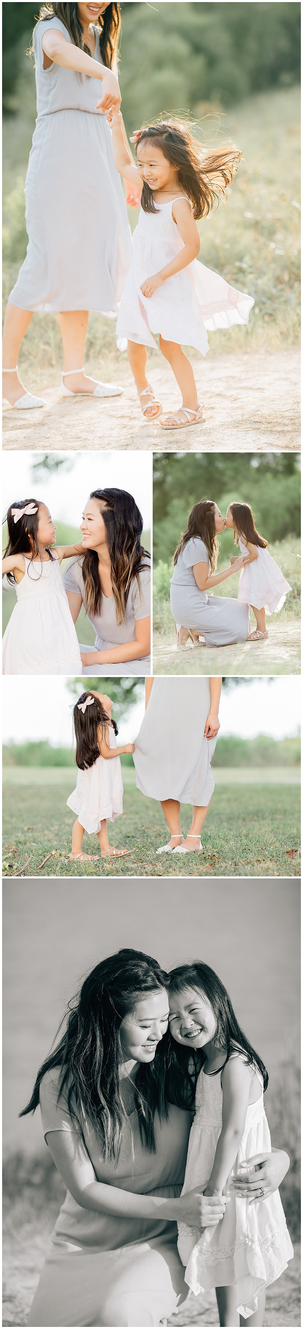 beautiful mommy and me photo ideas
