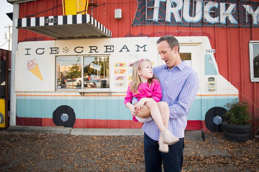 ice cream truck photography