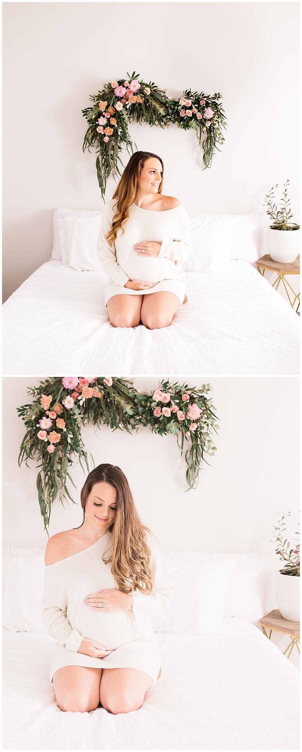 maternity photographer, Lexi Meadows Photography, Dallas Studio