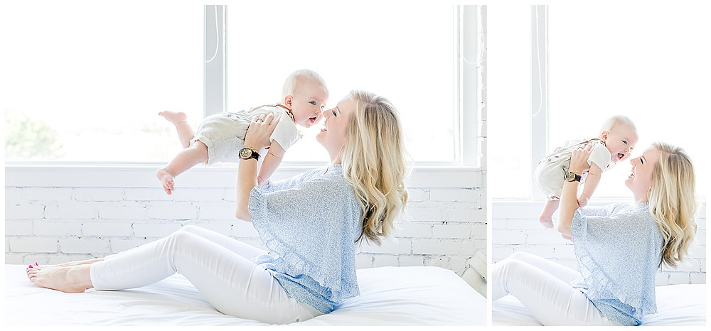 Mother and Son Photography poses
