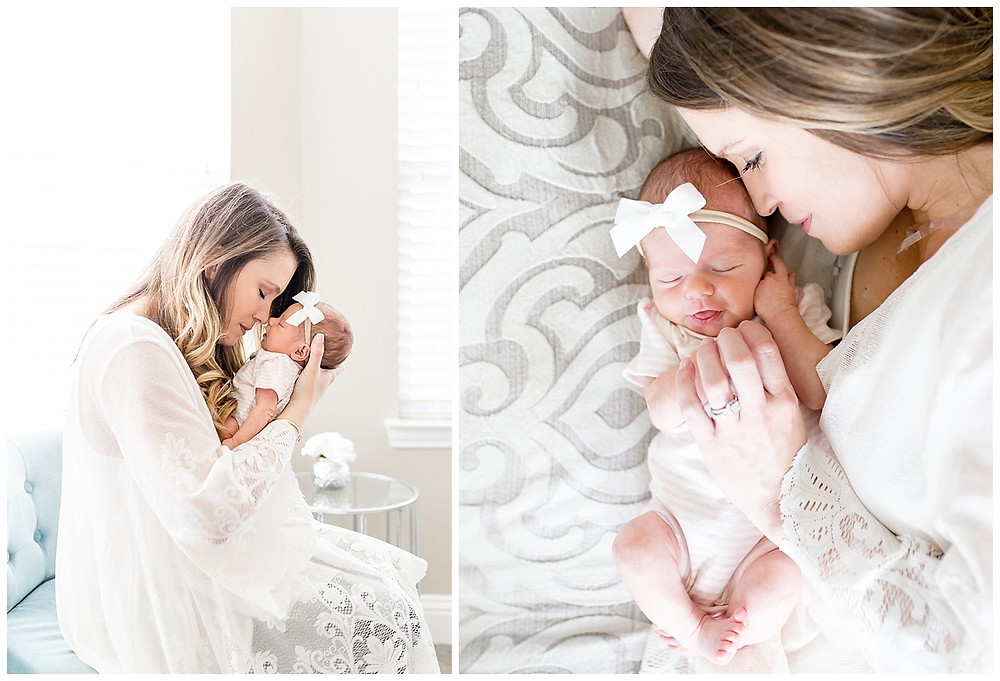 dallas newborn photographer, lexi meadows photography, light and airy, lifestyle newborn photos