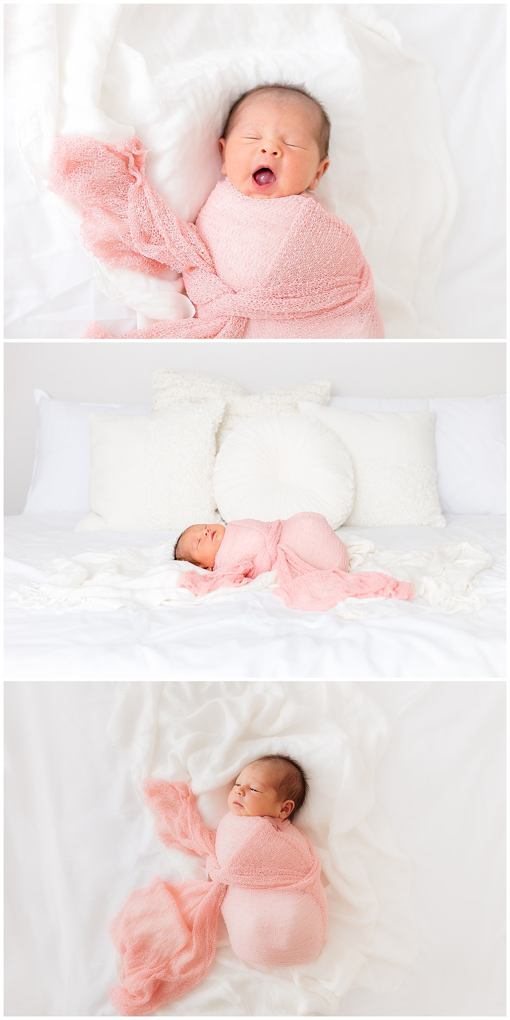 simple, natural, organic newborn pictures