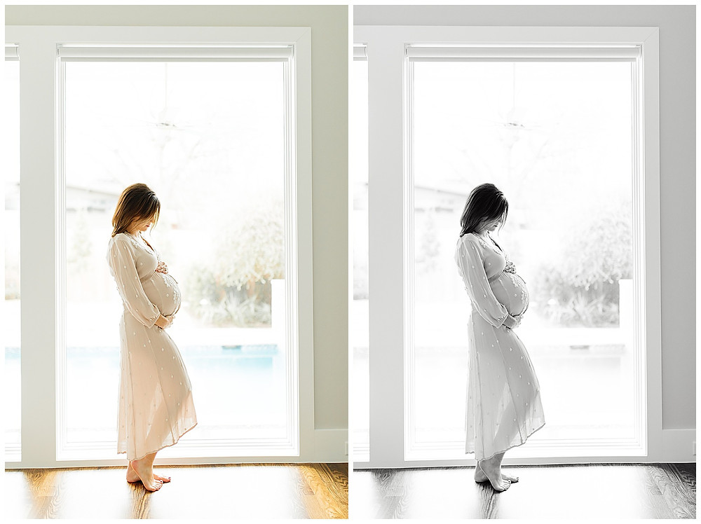 how to pose for maternity pictures