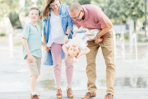 modern family photo session