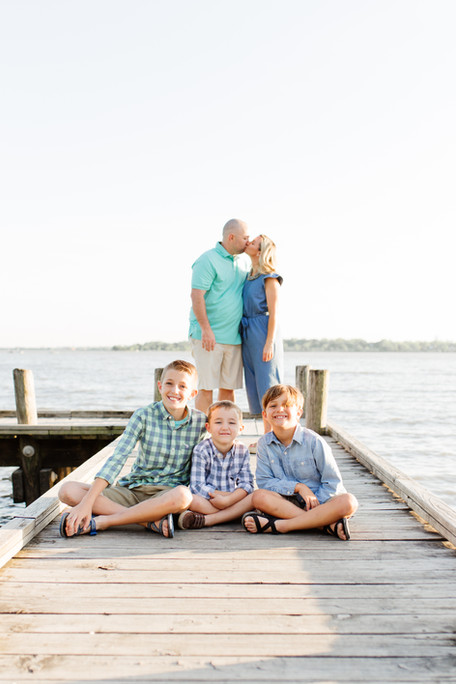 family photos with boys