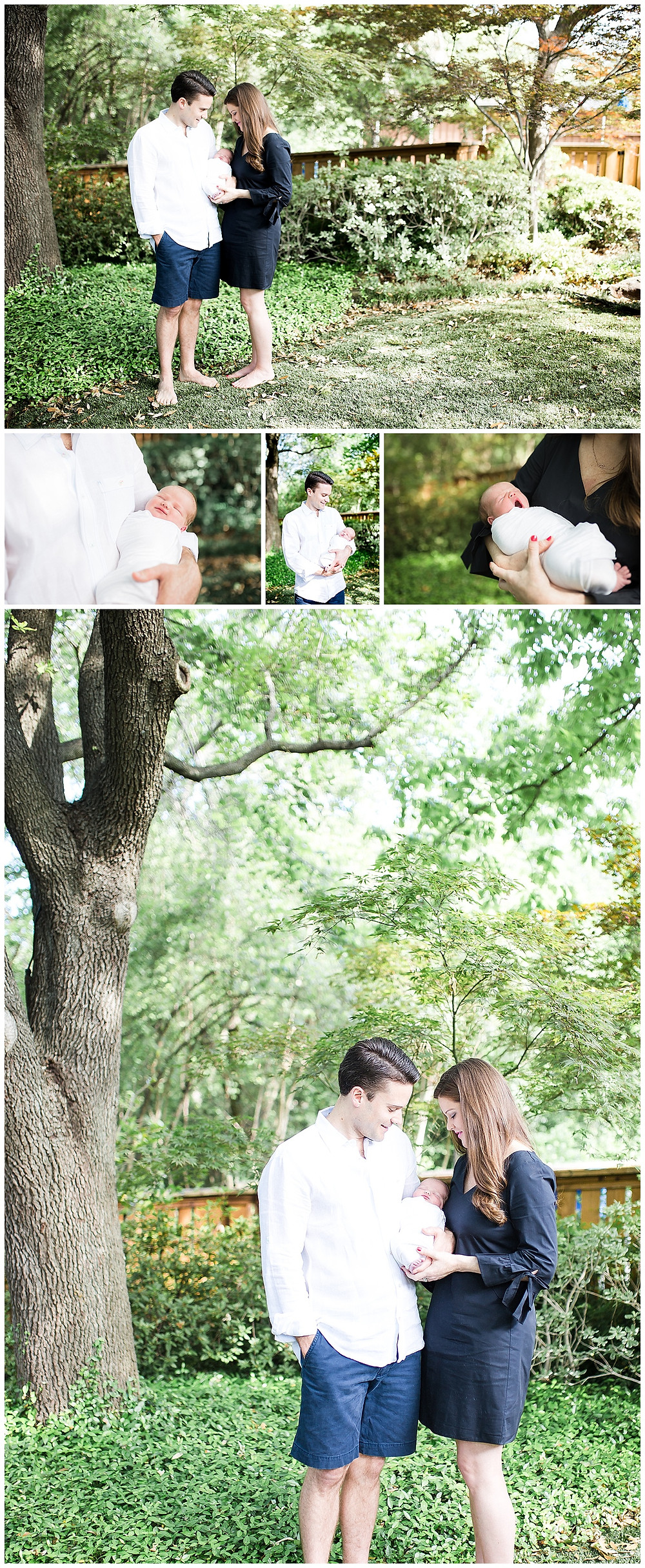 Dallas Newborn Lifestyle Photographer, Lexi Meadows Photography, Outdoor newborn photography session
