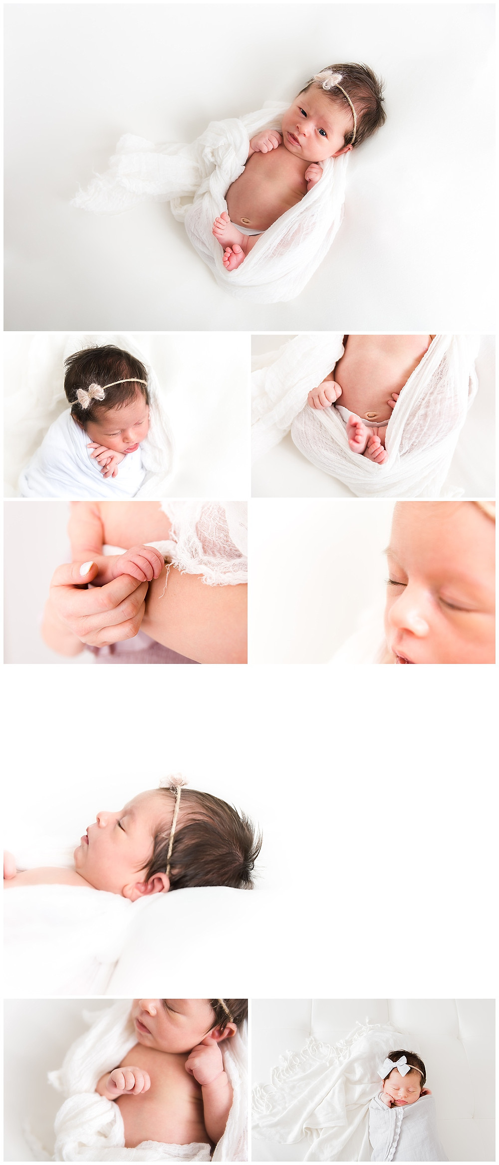 Newborn small details photography
