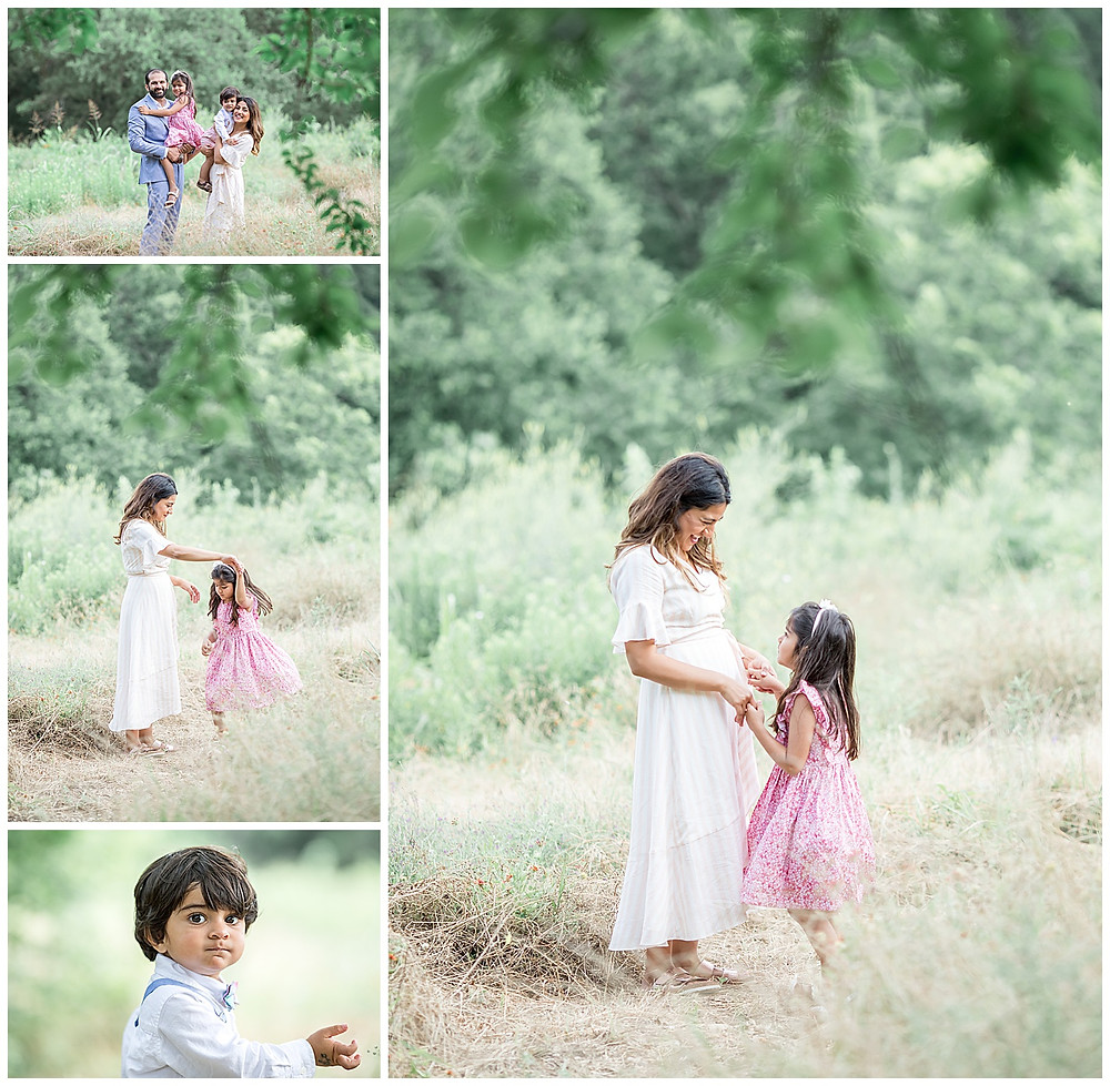 light and airy family photographs