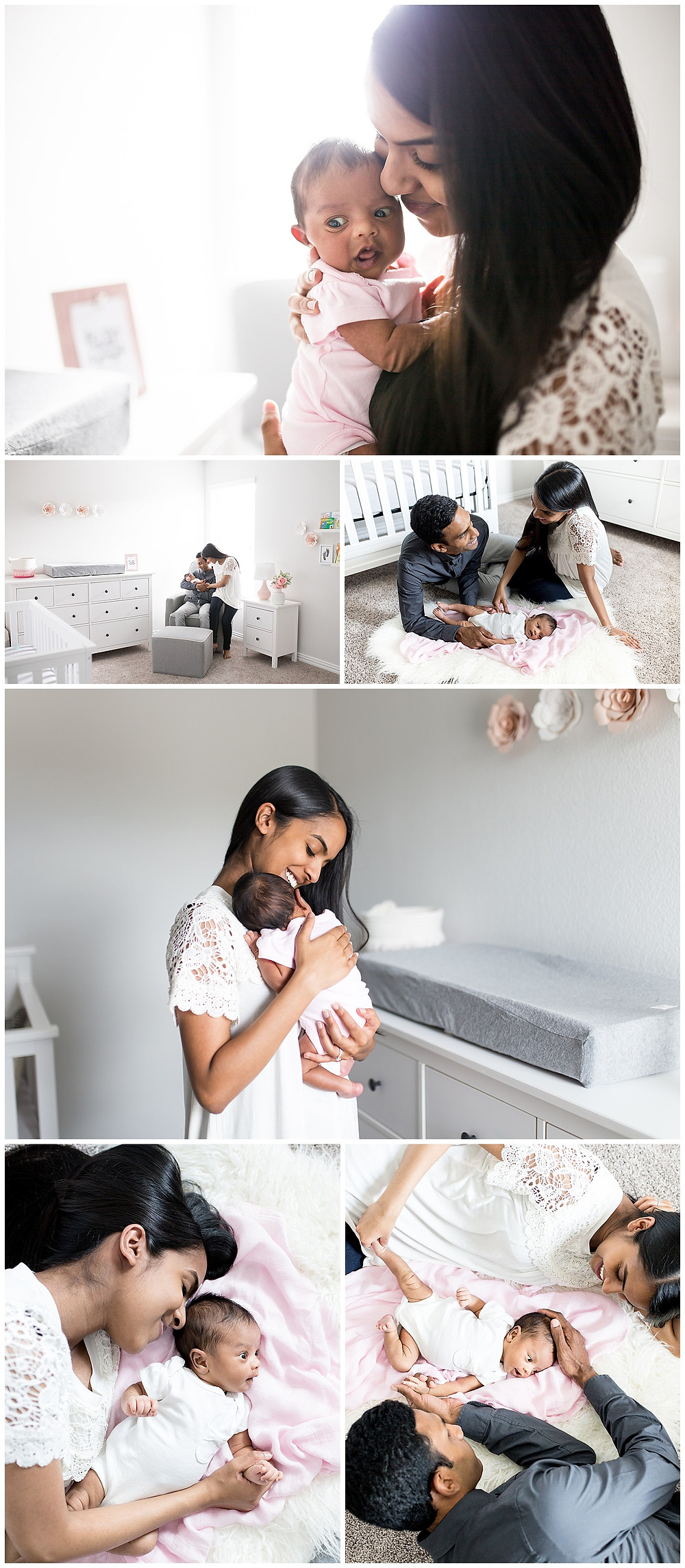 lifestyle newborn session, Lexi Meadows Photography