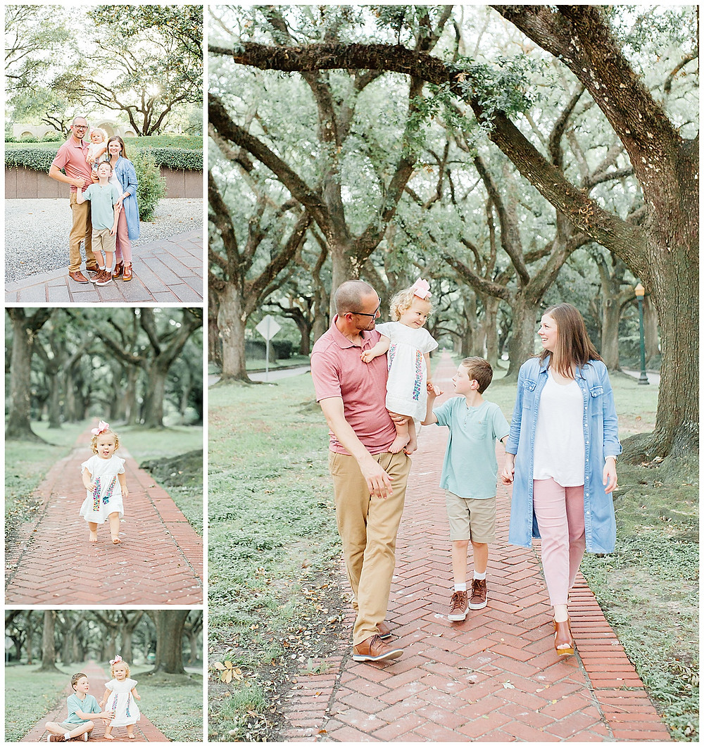 Family Photography in Houston, Heights