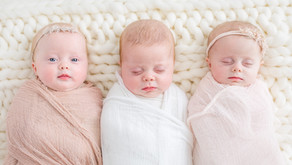 Triplets!   Houston Newborn Photographer