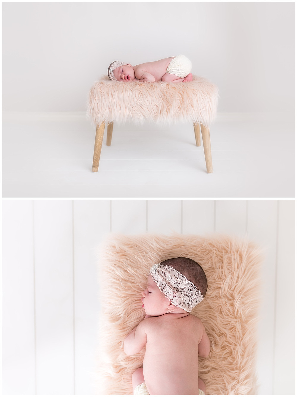 posed newborn and baby photos