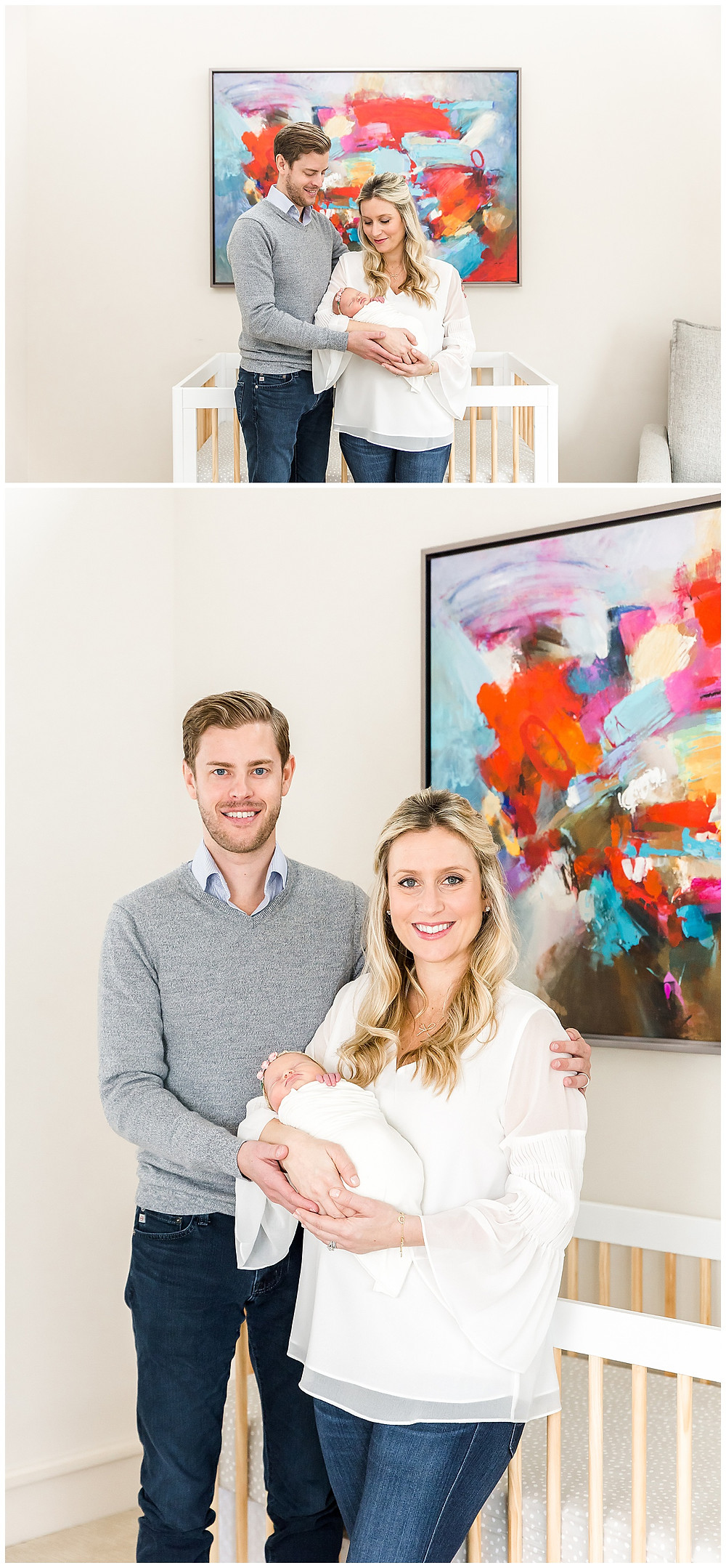 family photos with newborn