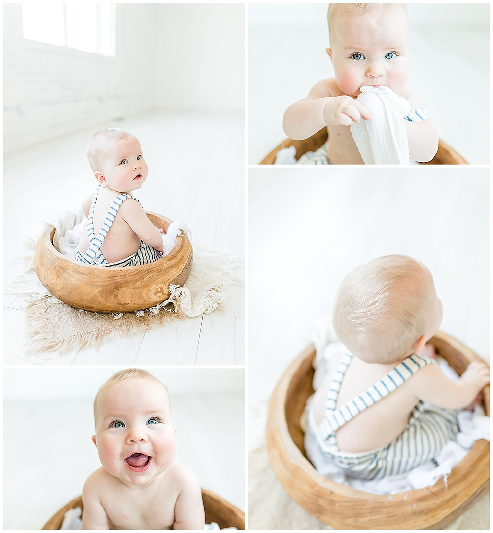 baby milestone photography in Houston, Texas