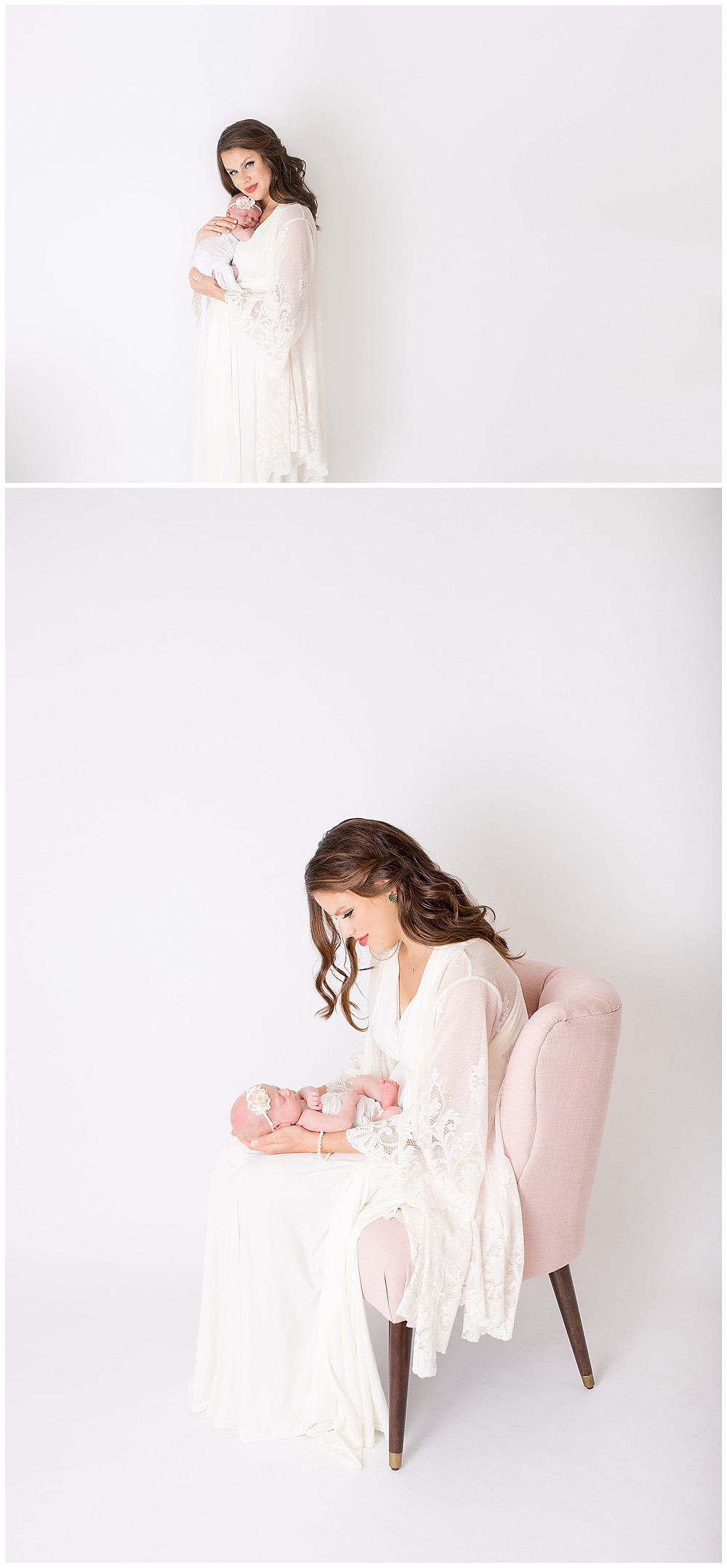 newborn portraits, family pictures with baby