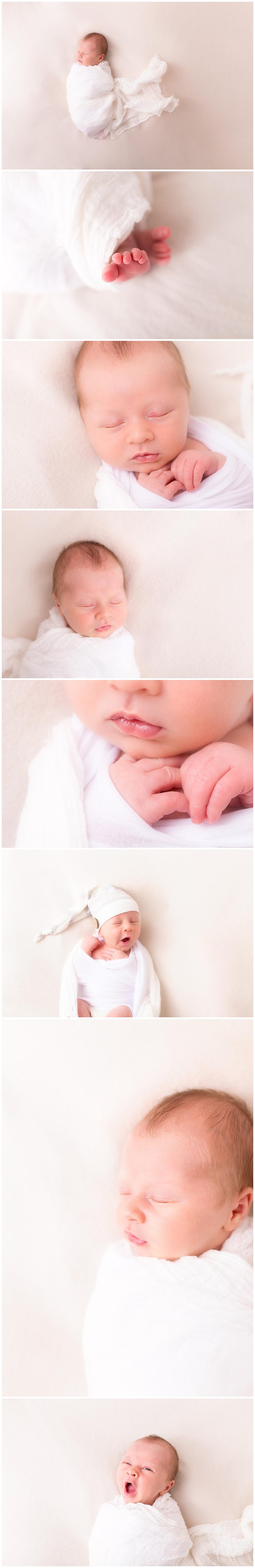 organic, natural, newborn posing