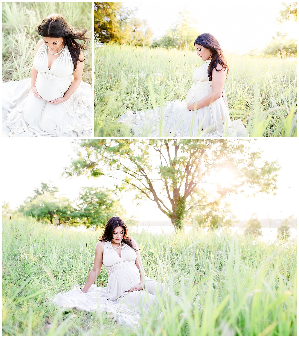 maternity photos in Dallas