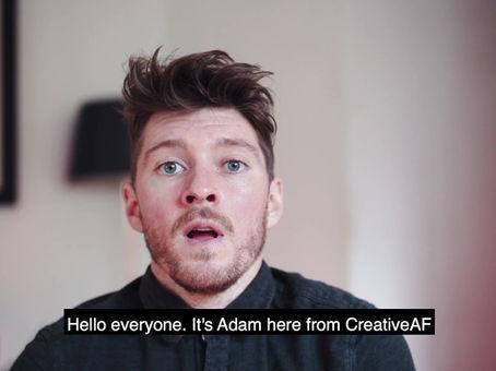 Creative content company CreativeAF celebrates ONE YEAR anniversary
