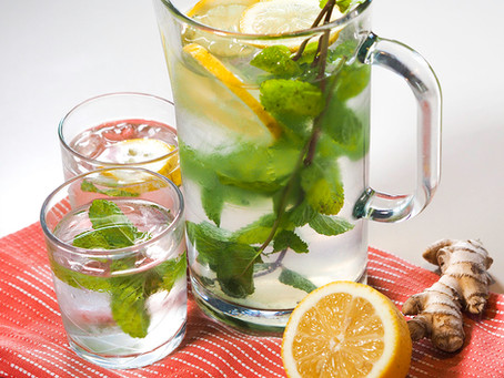Mint Lemon Cooler