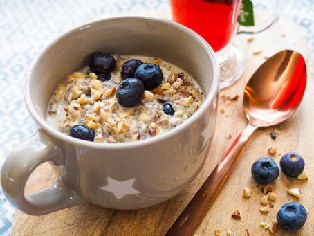 Sugar Free Overnight Porridge