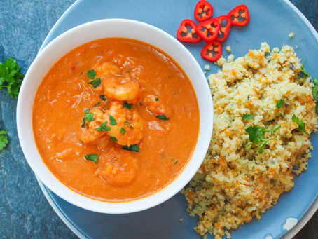 Ghanian Prawn Curry