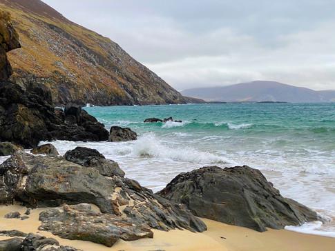 Keem Beach, Achil