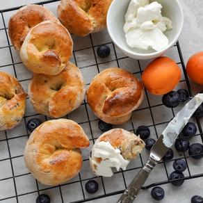 Buckwheat Apricot & Blueberry Bagel Knots