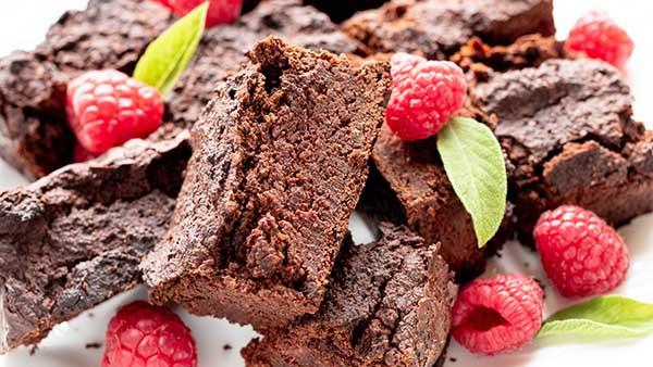sugarfree chocolate avocado brownie