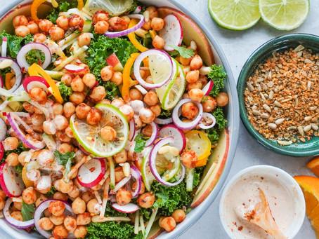 Chickpea Harissa Salad